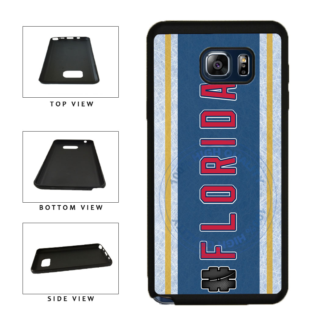 Hockey Team Hashtag Florida #Florida TPU RUBBER SILICONE Phone Case Back Cover For Samsung Galaxy Note V 5 N920 includes BleuReign(TM) Cloth and Warranty Label