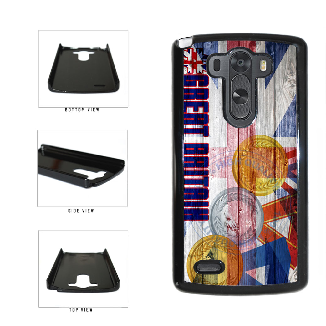 Sport Games Hashtag Team Great Britain #GreatBritain Plastic Phone Case Back Cover For LG G3 D855 includes BleuReign(TM) Cloth and Warranty Label