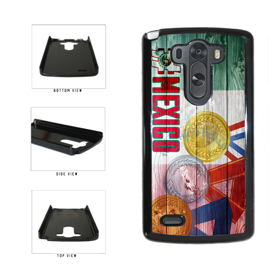 Sport Games Hashtag Team Mexico #Mexico Plastic Phone Case Back Cover For LG G3 D855 includes BleuReign(TM) Cloth and Warranty Label