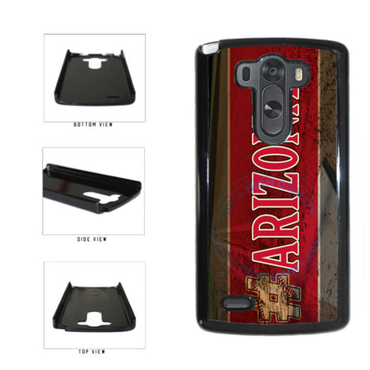 Hashtag Arizona #Arizona Baseball Team  Plastic Phone Case Back Cover For LG G3 D855 includes BleuReign(TM) Cloth and Warranty Label