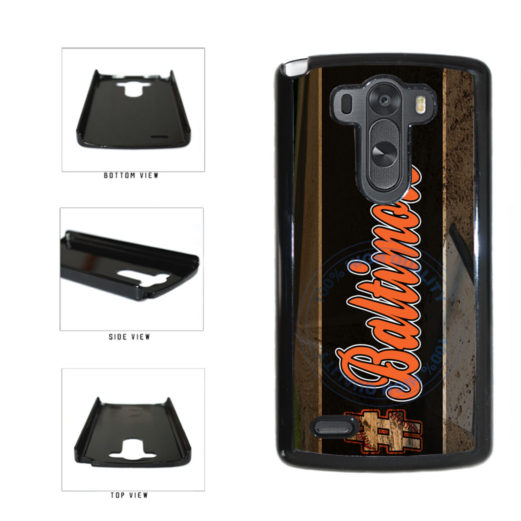 Hashtag Baltimore #Baltimore Baseball Team  Plastic Phone Case Back Cover For LG G3 D855 includes BleuReign(TM) Cloth and Warranty Label