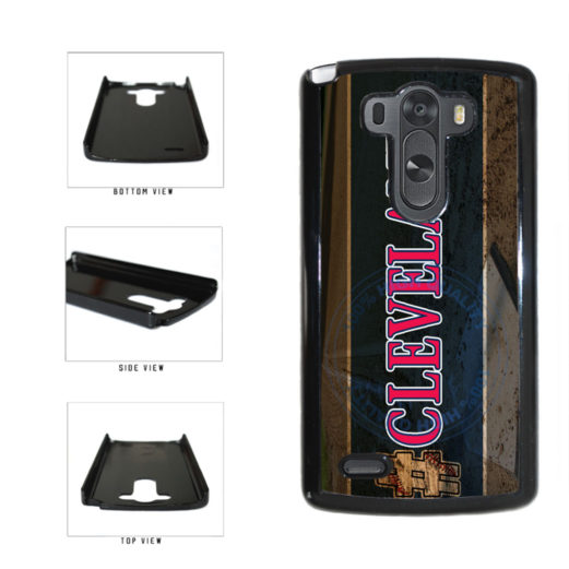 Hashtag Cleveland #Cleveland Baseball Team  Plastic Phone Case Back Cover For LG G3 D855 includes BleuReign(TM) Cloth and Warranty Label