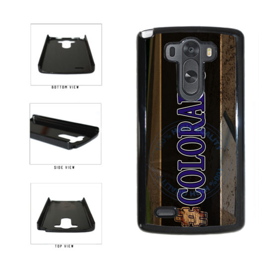 Hashtag Colorado #Colorado Baseball Team  Plastic Phone Case Back Cover For LG G3 D855 includes BleuReign(TM) Cloth and Warranty Label