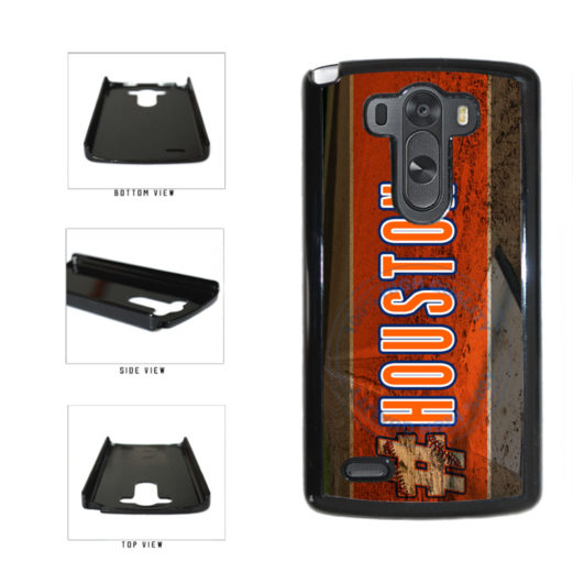 Hashtag Houston #Houston Baseball Team  Plastic Phone Case Back Cover For LG G3 D855 includes BleuReign(TM) Cloth and Warranty Label
