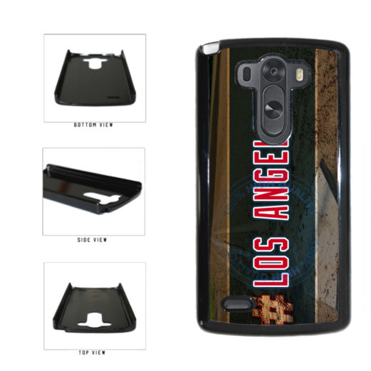 Hashtag Los Angeles #LosAngeles Anaheim Baseball Team Plastic Phone Case Back Cover For LG G3 D855 includes BleuReign(TM) Cloth and Warranty Label