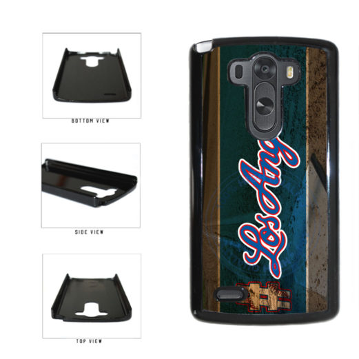 Hashtag Los Angeles #LosAngeles Blue Baseball Team  Plastic Phone Case Back Cover For LG G3 D855 includes BleuReign(TM) Cloth and Warranty Label