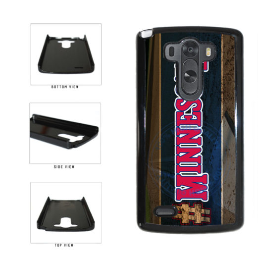 Hashtag Minnesota #Minnesota Baseball Team  Plastic Phone Case Back Cover For LG G3 D855 includes BleuReign(TM) Cloth and Warranty Label