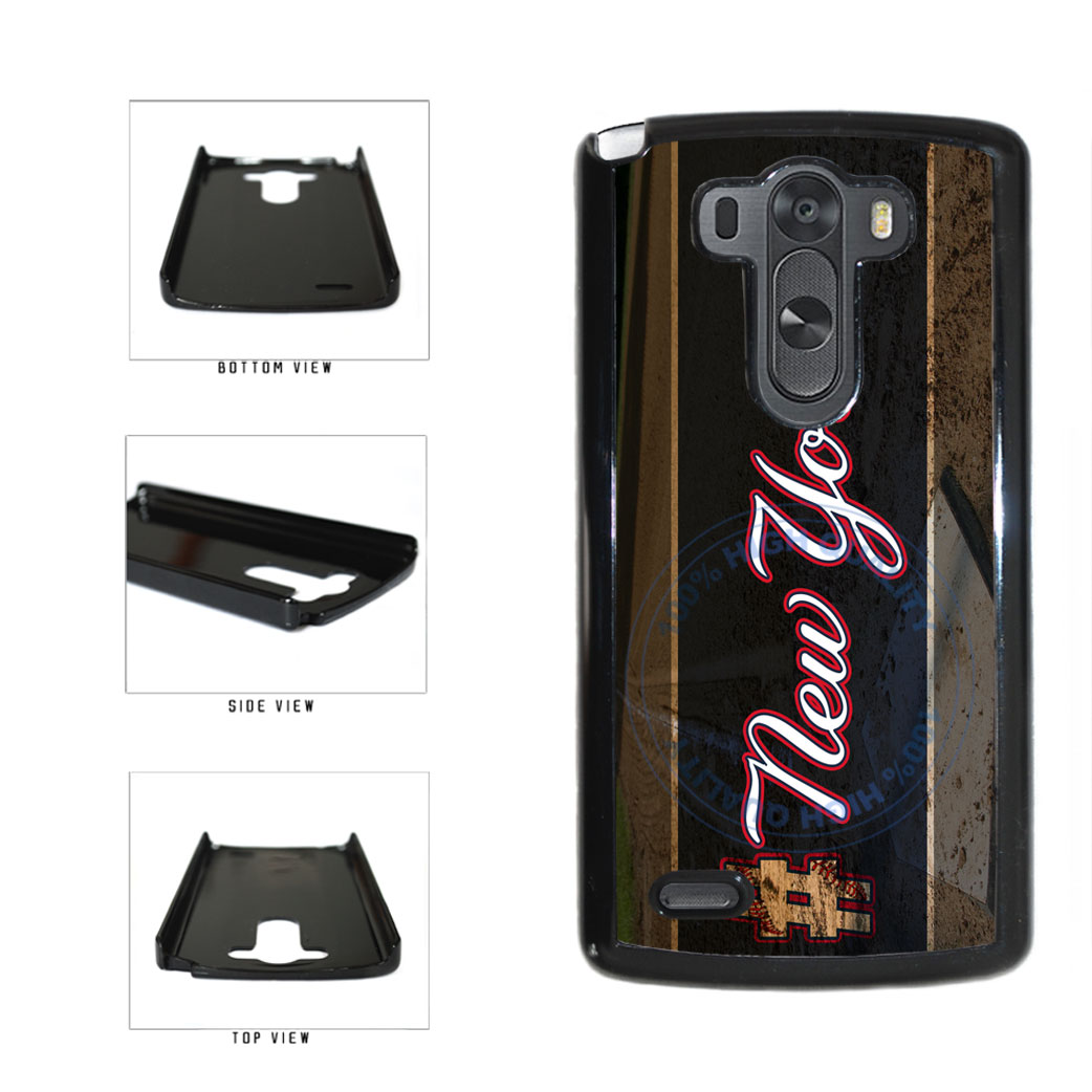 Hashtag New York #NewYork Blue Baseball Team  Plastic Phone Case Back Cover For LG G3 D855 includes BleuReign(TM) Cloth and Warranty Label