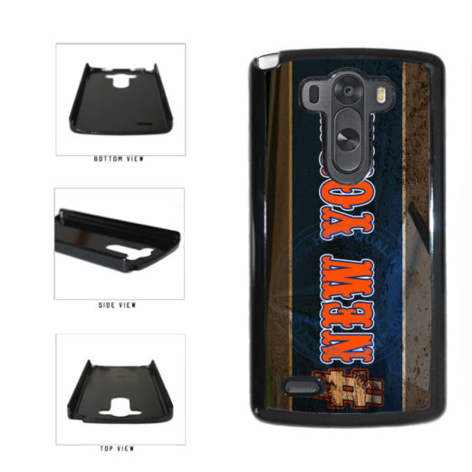 Hashtag New York #NewYork Orange Baseball Team  Plastic Phone Case Back Cover For LG G3 D855 includes BleuReign(TM) Cloth and Warranty Label