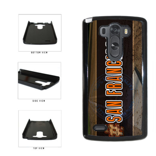 Hashtag San Francisco #SanFrancisco Baseball Team  Plastic Phone Case Back Cover For LG G3 D855 includes BleuReign(TM) Cloth and Warranty Label