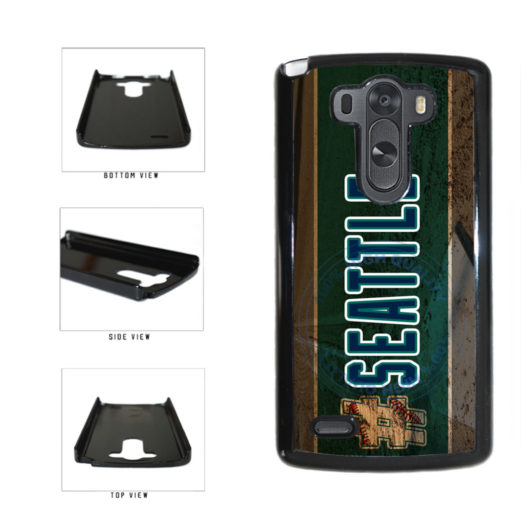 Hashtag Seattle #Seattle Baseball Team  Plastic Phone Case Back Cover For LG G3 D855 includes BleuReign(TM) Cloth and Warranty Label