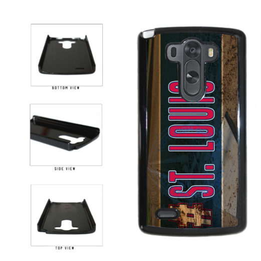 Hashtag St Louis #StLouis Baseball Team Plastic Phone Case Back Cover For LG G3 D855 includes BleuReign(TM) Cloth and Warranty Label