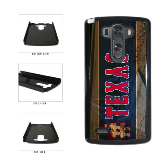Hashtag Texas #Texas Baseball Team  Plastic Phone Case Back Cover For LG G3 D855 includes BleuReign(TM) Cloth and Warranty Label