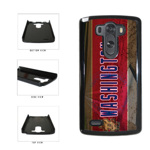 Hashtag Washington #Washington Baseball Team  Plastic Phone Case Back Cover For LG G3 D855 includes BleuReign(TM) Cloth and Warranty Label