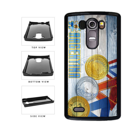 Sport Games Hashtag Team Argentina #Argentina Plastic Phone Case Back Cover For LG G4 H815 includes BleuReign(TM) Cloth and Warranty Label