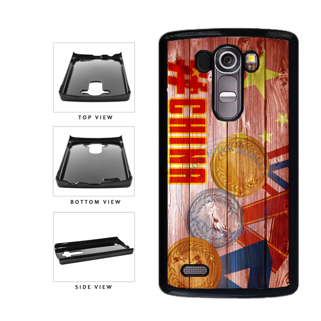 Sport Games Hashtag Team China #China Plastic Phone Case Back Cover For LG G4 H815 includes BleuReign(TM) Cloth and Warranty Label
