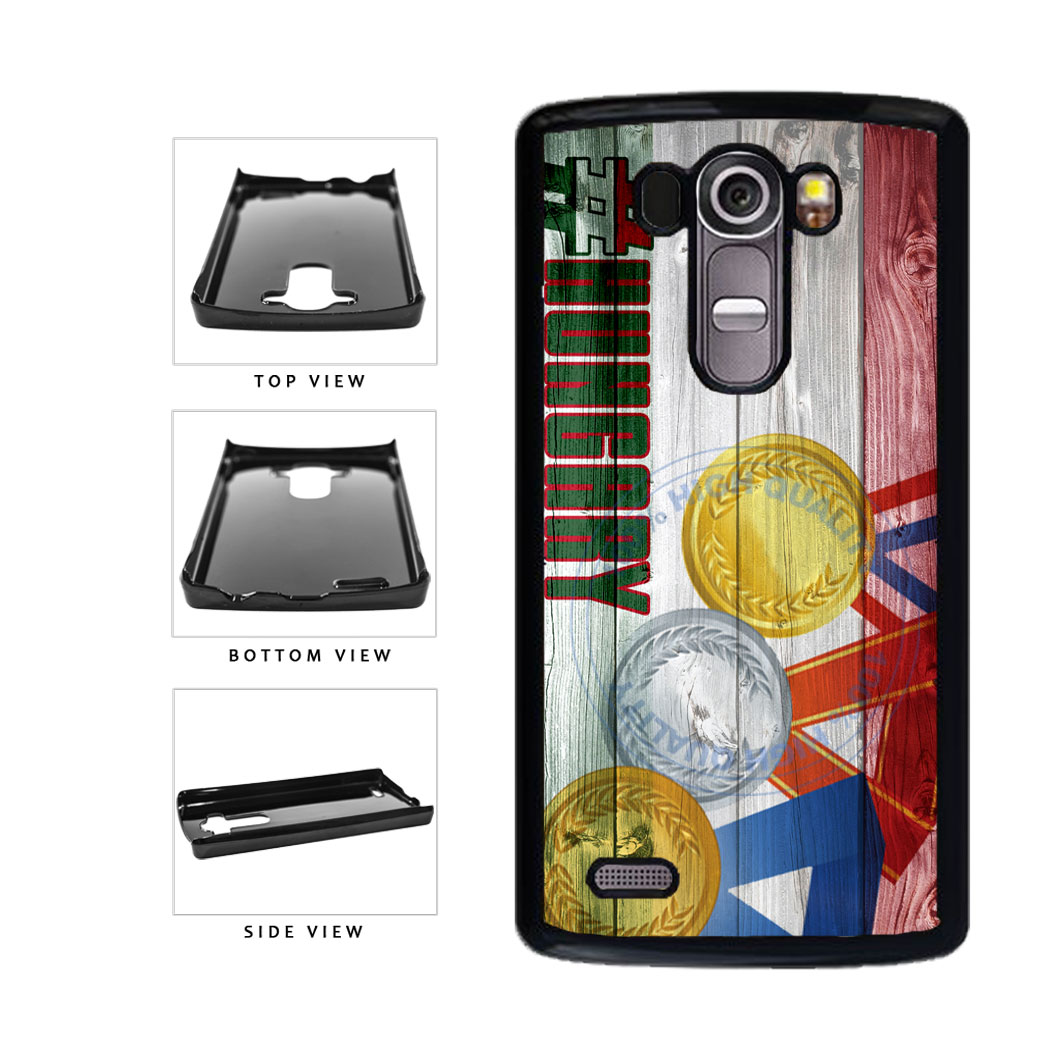 Sport Games Hashtag Team Hungary #Hungary Plastic Phone Case Back Cover For LG G4 H815 includes BleuReign(TM) Cloth and Warranty Label