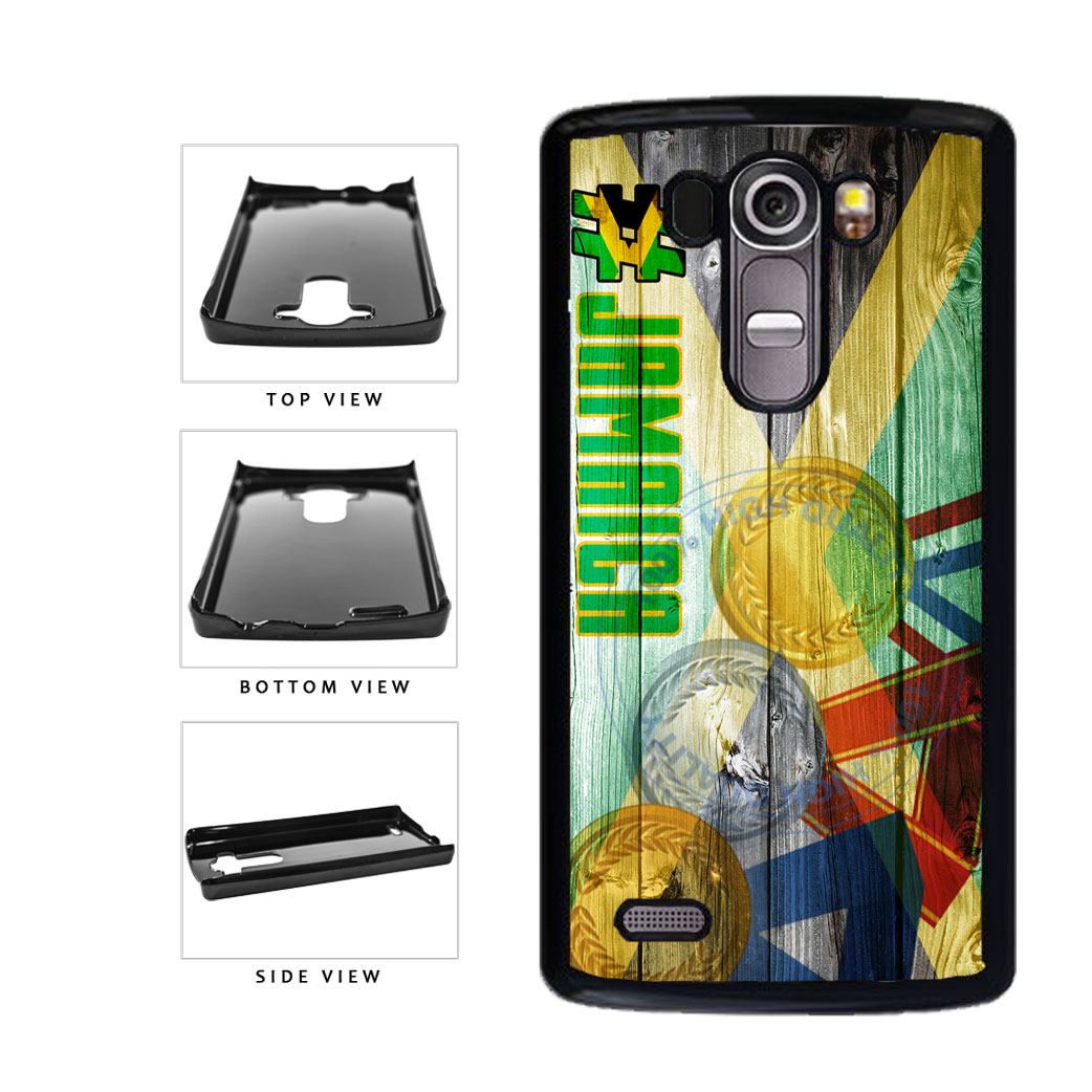 Sport Games Hashtag Team Jamaica #Jamacia Plastic Phone Case Back Cover For LG G4 H815 includes BleuReign(TM) Cloth and Warranty Label