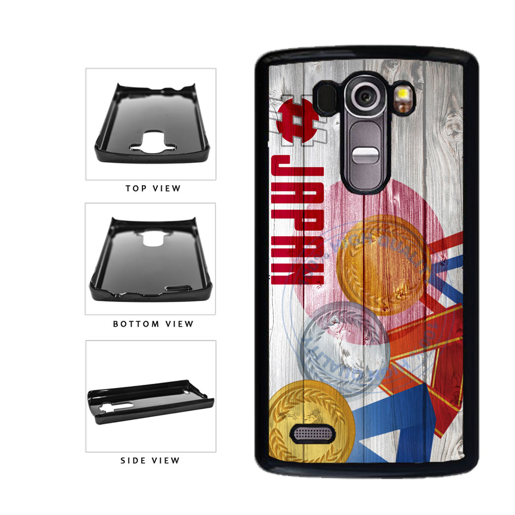 Sport Games Hashtag Team Japan #Japan Plastic Phone Case Back Cover For LG G4 H815 includes BleuReign(TM) Cloth and Warranty Label
