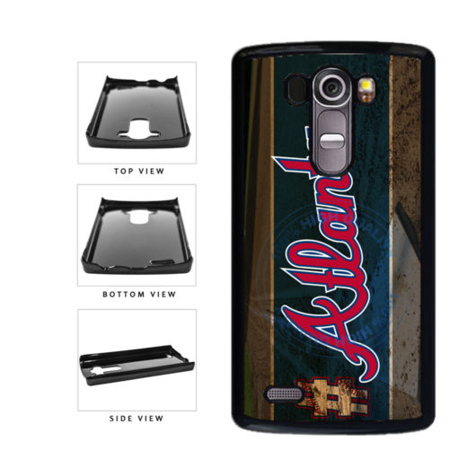 Hashtag Atlanta #Atlanta Baseball Team  Plastic Phone Case Back Cover For LG G4 H815 includes BleuReign(TM) Cloth and Warranty Label