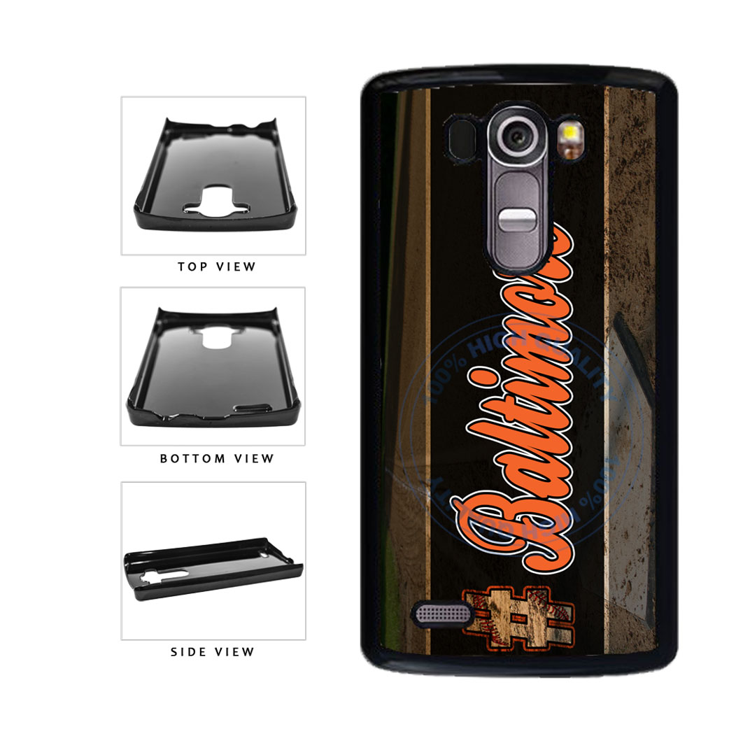 Hashtag Baltimore #Baltimore Baseball Team  Plastic Phone Case Back Cover For LG G4 H815 includes BleuReign(TM) Cloth and Warranty Label