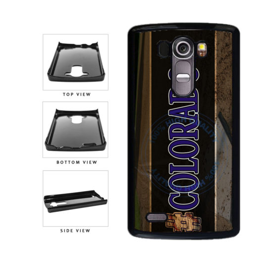 Hashtag Colorado #Colorado Baseball Team  Plastic Phone Case Back Cover For LG G4 H815 includes BleuReign(TM) Cloth and Warranty Label