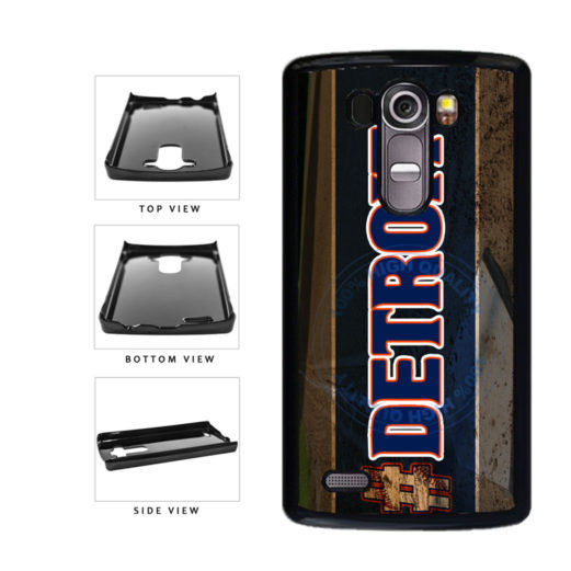 Hashtag Detroit #Detroit Baseball Team  Plastic Phone Case Back Cover For LG G4 H815 includes BleuReign(TM) Cloth and Warranty Label