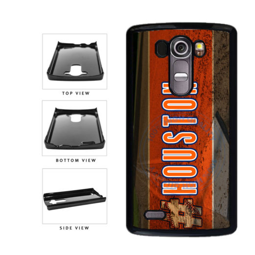 Hashtag Houston #Houston Baseball Team  Plastic Phone Case Back Cover For LG G4 H815 includes BleuReign(TM) Cloth and Warranty Label