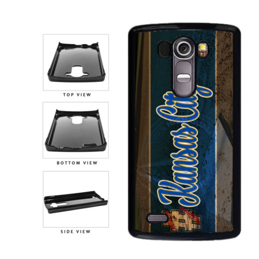 Hashtag Kansas City #KansasCity Baseball Team  Plastic Phone Case Back Cover For LG G4 H815 includes BleuReign(TM) Cloth and Warranty Label