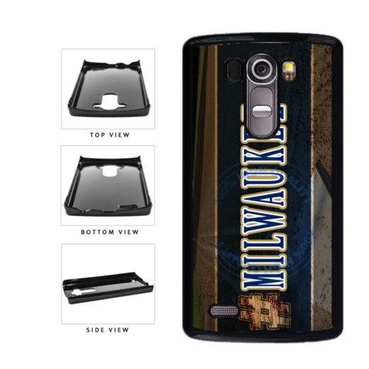 Hashtag Milwaukee #Milwaukee Baseball Team  Plastic Phone Case Back Cover For LG G4 H815 includes BleuReign(TM) Cloth and Warranty Label