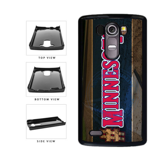 Hashtag Minnesota #Minnesota Baseball Team  Plastic Phone Case Back Cover For LG G4 H815 includes BleuReign(TM) Cloth and Warranty Label