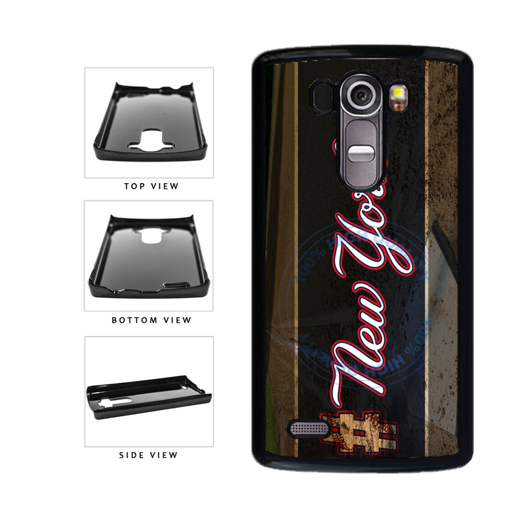 Hashtag New York #NewYork Blue Baseball Team  Plastic Phone Case Back Cover For LG G4 H815 includes BleuReign(TM) Cloth and Warranty Label