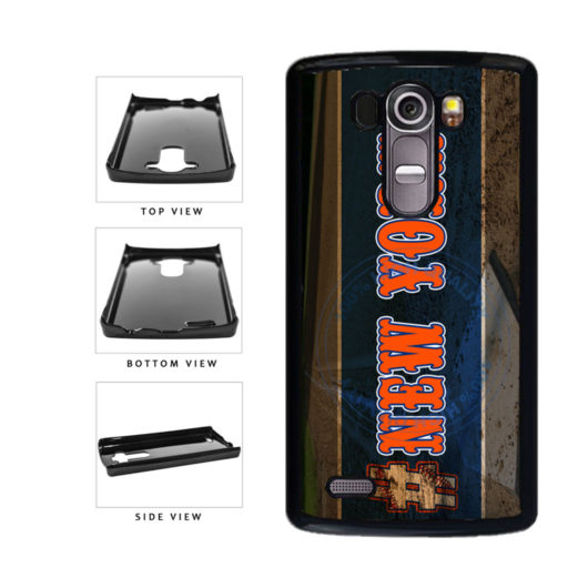 Hashtag New York #NewYork Orange Baseball Team  Plastic Phone Case Back Cover For LG G4 H815 includes BleuReign(TM) Cloth and Warranty Label