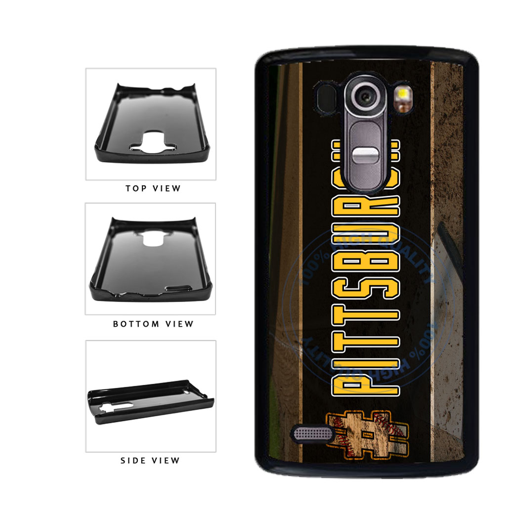 Hashtag Pittsburgh #Pittsburgh Baseball Team  Plastic Phone Case Back Cover For LG G4 H815 includes BleuReign(TM) Cloth and Warranty Label
