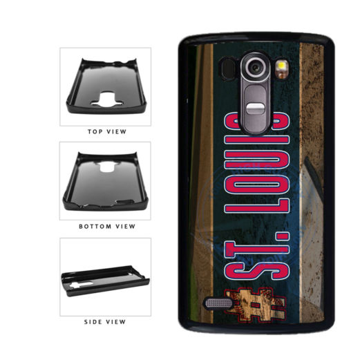 Hashtag St Louis #StLouis Baseball Team Plastic Phone Case Back Cover For LG G4 H815 includes BleuReign(TM) Cloth and Warranty Label