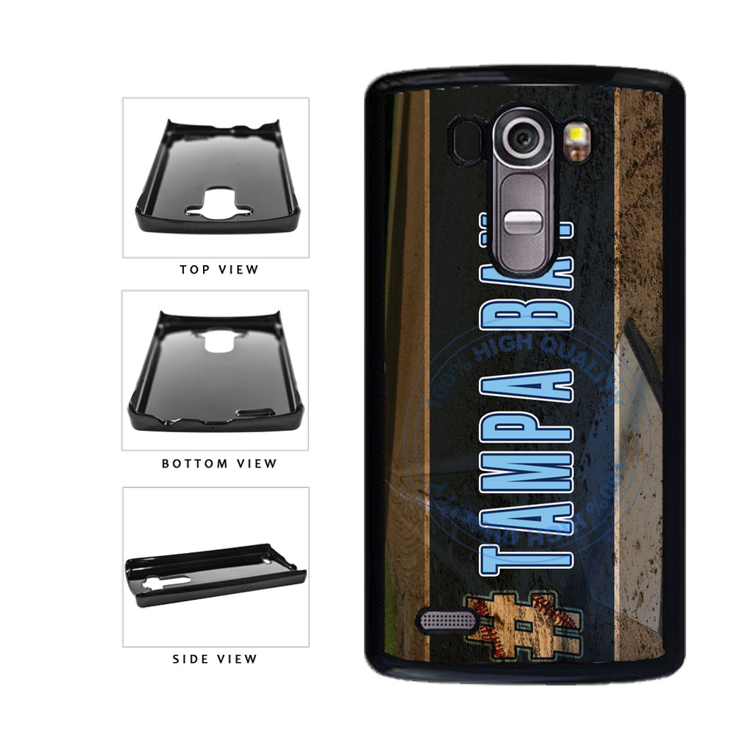 Hashtag Tampa Bay #TampaBay Baseball Team  Plastic Phone Case Back Cover For LG G4 H815 includes BleuReign(TM) Cloth and Warranty Label