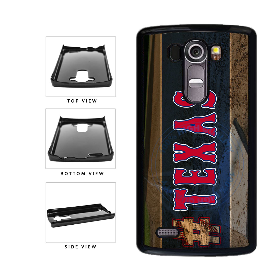 Hashtag Texas #Texas Baseball Team  Plastic Phone Case Back Cover For LG G4 H815 includes BleuReign(TM) Cloth and Warranty Label