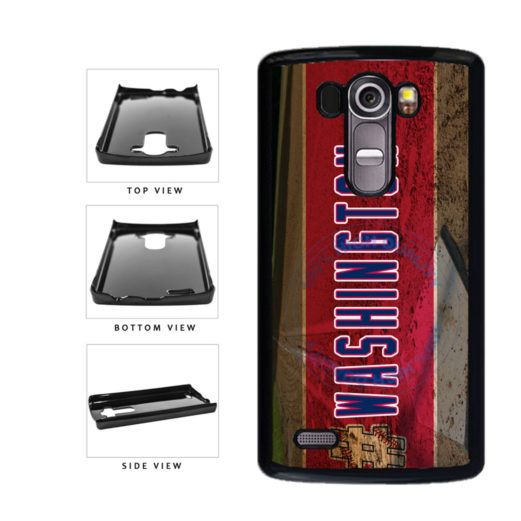 Hashtag Washington #Washington Baseball Team  Plastic Phone Case Back Cover For LG G4 H815 includes BleuReign(TM) Cloth and Warranty Label