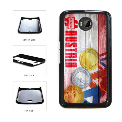 Sport Games Hashtag Team Austria #Austria Plastic Phone Case Back Cover For Google Nexus 6 includes BleuReign(TM) Cloth and Warranty Label