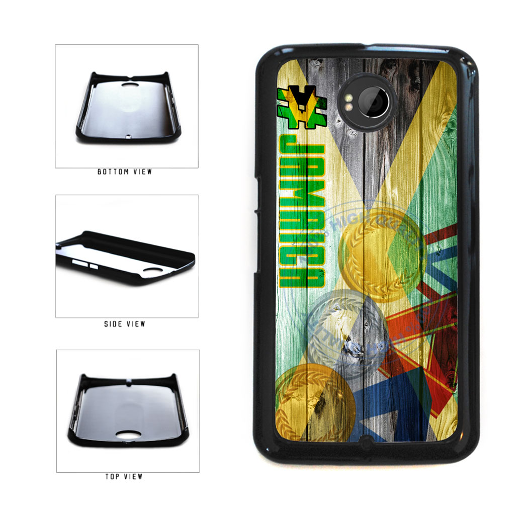 Sport Games Hashtag Team Jamaica #Jamacia Plastic Phone Case Back Cover For Google Nexus 6 includes BleuReign(TM) Cloth and Warranty Label