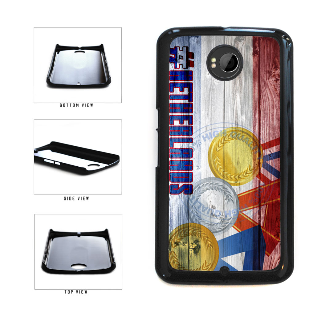Sport Games Hashtag Team Netherlands #Netherlands Plastic Phone Case Back Cover For Google Nexus 6 includes BleuReign(TM) Cloth and Warranty Label