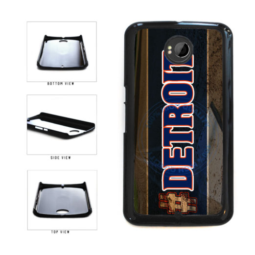 Hashtag Detroit #Detroit Baseball Team  Plastic Phone Case Back Cover For Google Nexus 6 includes BleuReign(TM) Cloth and Warranty Label