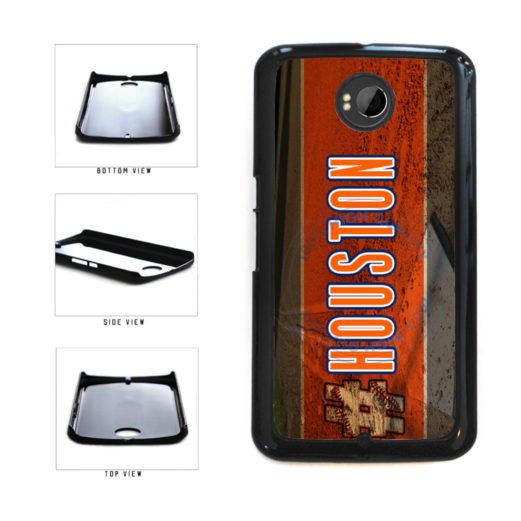 Hashtag Houston #Houston Baseball Team  Plastic Phone Case Back Cover For Google Nexus 6 includes BleuReign(TM) Cloth and Warranty Label