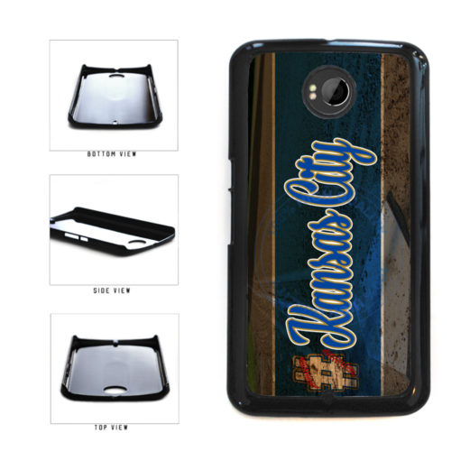 Hashtag Kansas City #KansasCity Baseball Team  Plastic Phone Case Back Cover For Google Nexus 6 includes BleuReign(TM) Cloth and Warranty Label