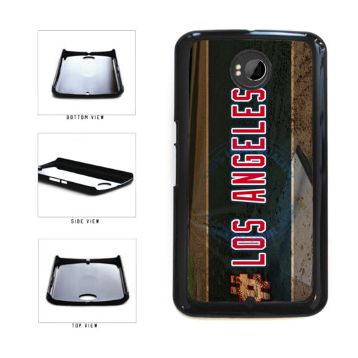 Hashtag Los Angeles #LosAngeles Anaheim Baseball Team Plastic Phone Case Back Cover For Google Nexus 6 includes BleuReign(TM) Cloth and Warranty Label