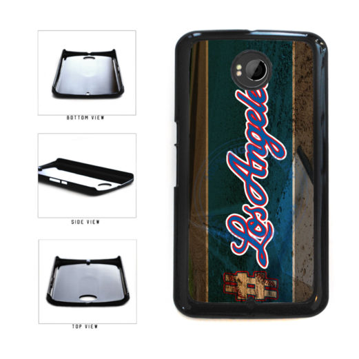 Hashtag Los Angeles #LosAngeles Blue Baseball Team  Plastic Phone Case Back Cover For Google Nexus 6 includes BleuReign(TM) Cloth and Warranty Label