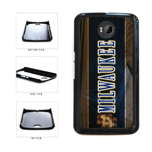 Hashtag Milwaukee #Milwaukee Baseball Team  Plastic Phone Case Back Cover For Google Nexus 6 includes BleuReign(TM) Cloth and Warranty Label
