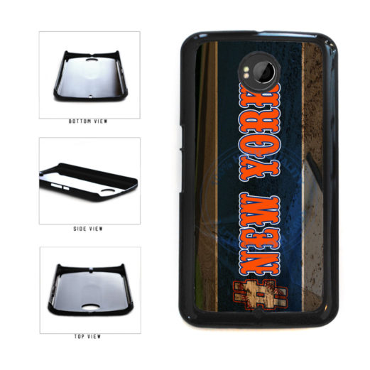 Hashtag New York #NewYork Orange Baseball Team  Plastic Phone Case Back Cover For Google Nexus 6 includes BleuReign(TM) Cloth and Warranty Label