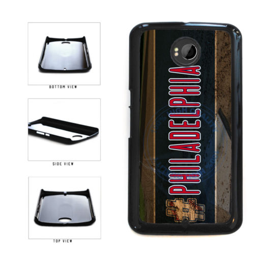Hashtag Philadelphia #Philadelphia Baseball Team  Plastic Phone Case Back Cover For Google Nexus 6 includes BleuReign(TM) Cloth and Warranty Label