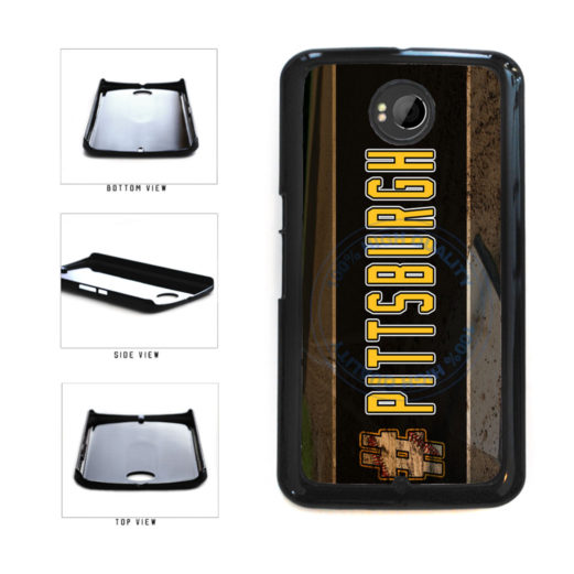Hashtag Pittsburgh #Pittsburgh Baseball Team  Plastic Phone Case Back Cover For Google Nexus 6 includes BleuReign(TM) Cloth and Warranty Label